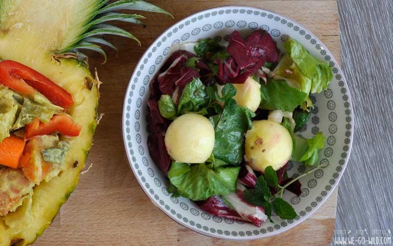 9 schnelle und leichte salat rezepte zum abnehmen. Black Bedroom Furniture Sets. Home Design Ideas