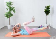 Bauch straffen durch Bauchmuskel Training