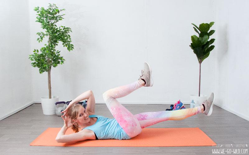 Woche 3 Übungen, um Gewicht zu verlieren und das Gesäß zu straffen