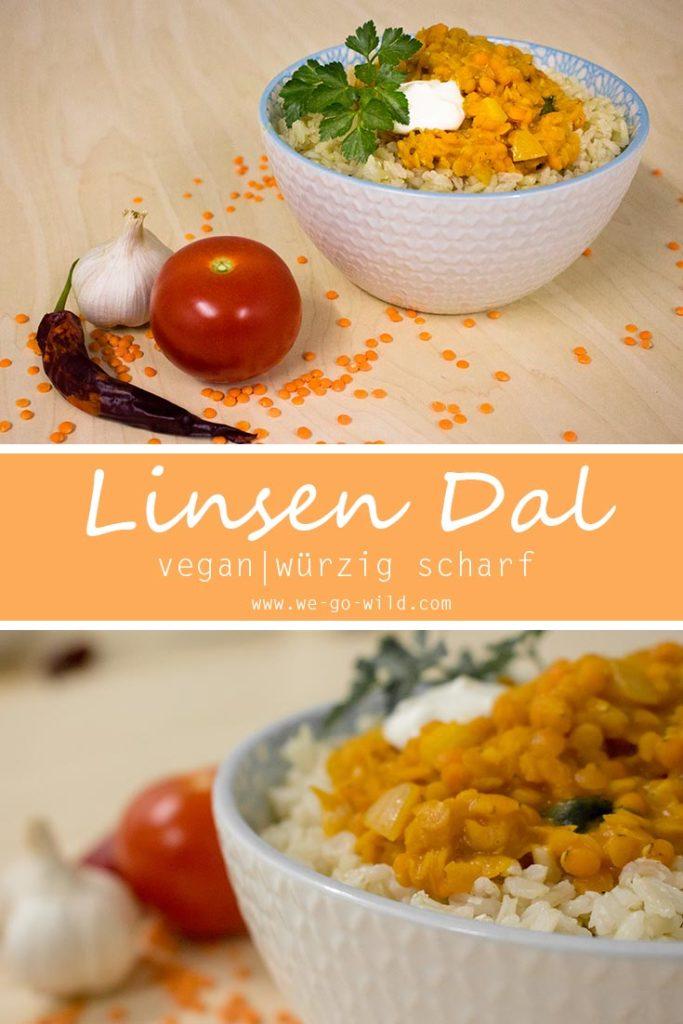 Rote Linsen Rezepte: Veganes Dal mit Kokosmilch