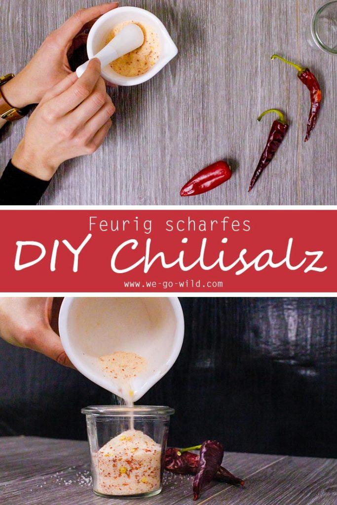 Chilisalz selber machen: Rezept für scharfes Gewürzsalz herstellen