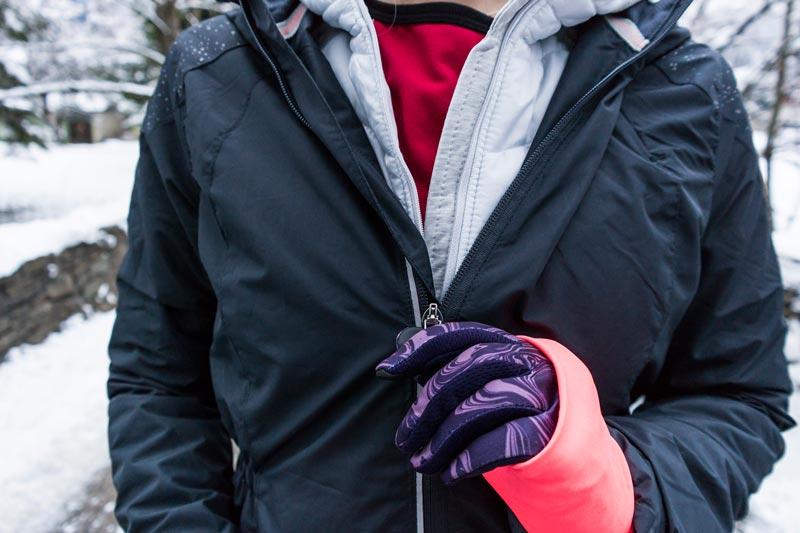 Laufen im Winter bei Eis und Schnee