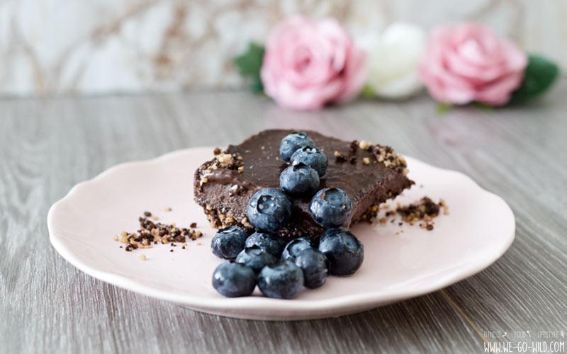 Brownies aus dem Tiefkühlfach ohne Ei, vegan