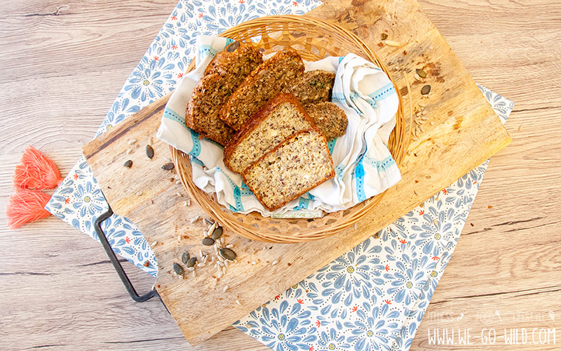 Frühstück ohne Kohlenhydrate Low Carb Brot