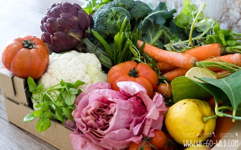 Bauchspeck loswerden mit Gemüse und Obst
