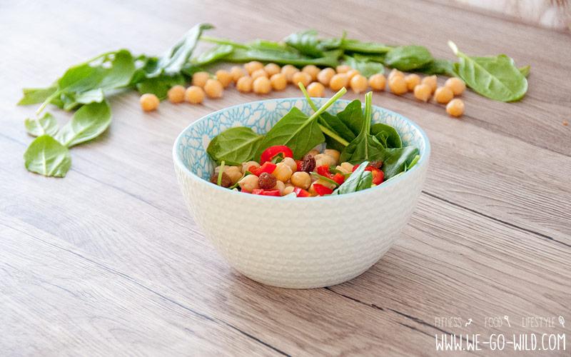 Kichererbsensalat vegan: Rezept fürs Mittagessen
