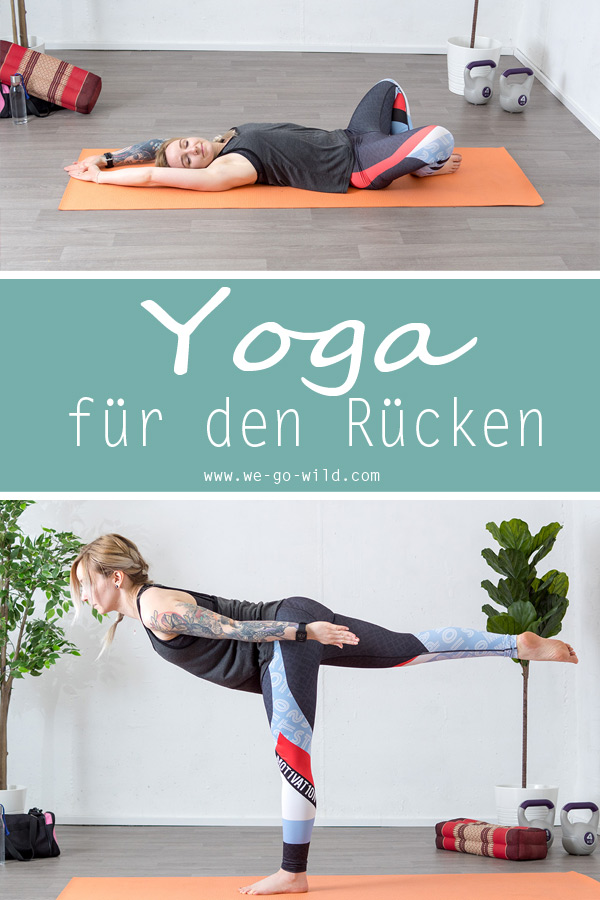8 Yoga Übungen für den unteren Rücken: Workout bei..