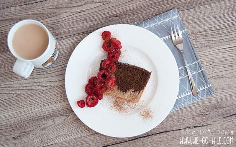 Fluffiger Low Carb Marmorkuchen Mit Kokosmehl