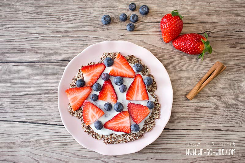 Low Carb Pizza als Frühstück ohne Kohlenhydrate