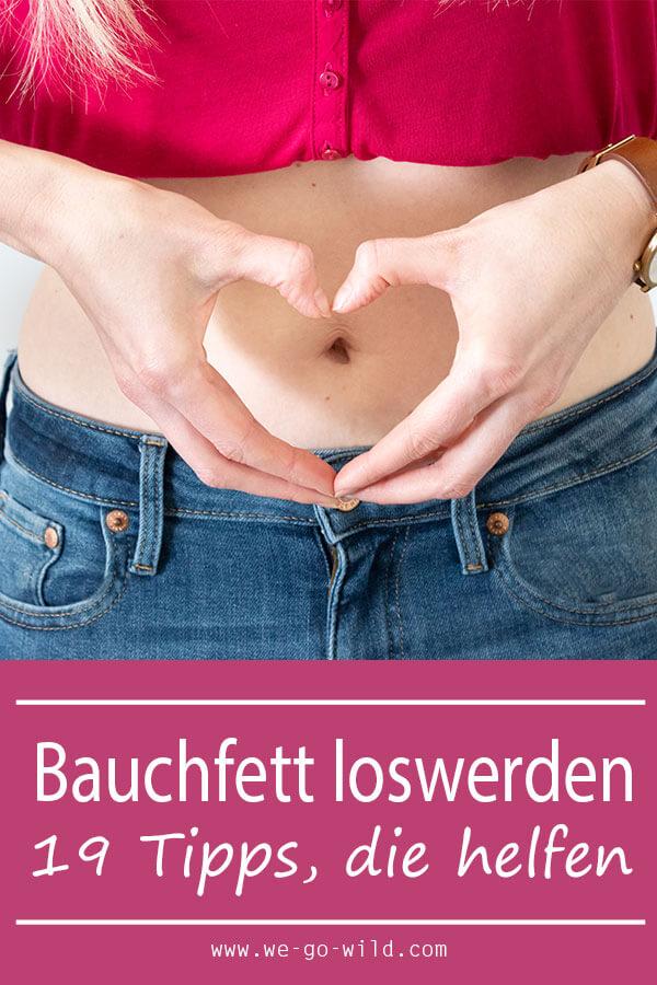 Beseitigen Sie Bauchfett Frau Diät