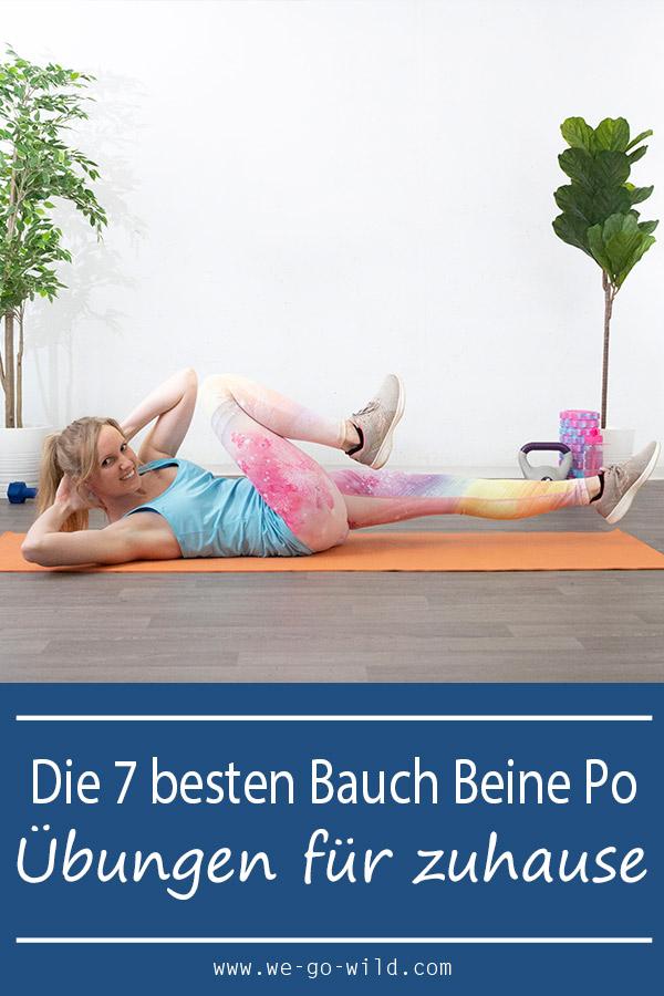 7 Bauch Beine Po übungen Die Deinen Körper In 4 Wochen Verändern