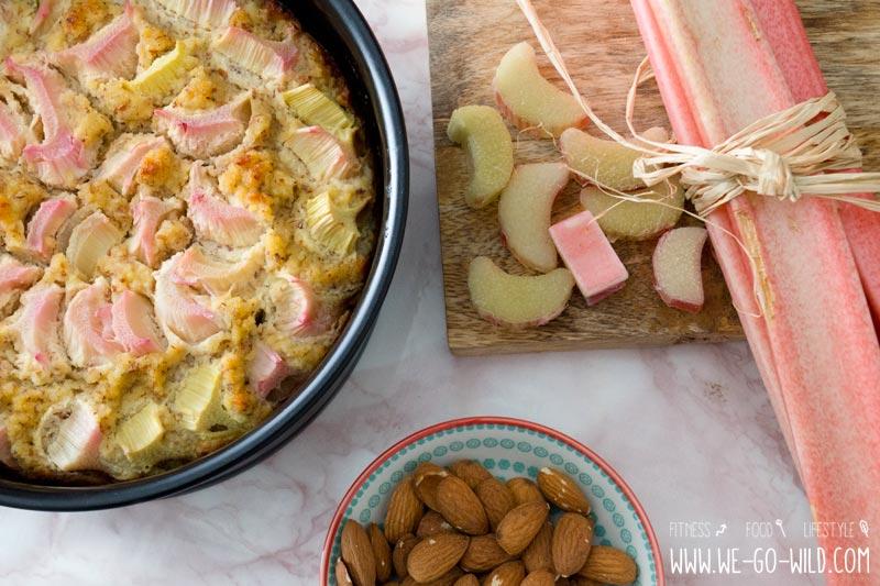 Der Beste Low Carb Rhabarberkuchen Mit Kokosmehl Und Ohne Zucker