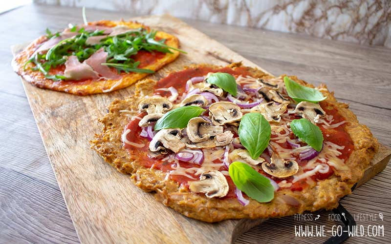 Low Carb Pizzaboden 9 Leckere Rezepte Für Pizzateig Ohne Mehl