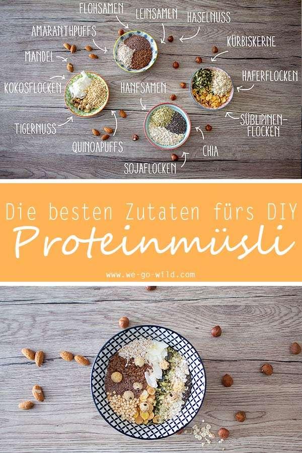 Proteinmüsli selber machen