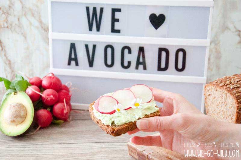 avocado aufstrich mit frischk se f r ein gesundes fr hst ck we go wild der 1 fitness blog. Black Bedroom Furniture Sets. Home Design Ideas