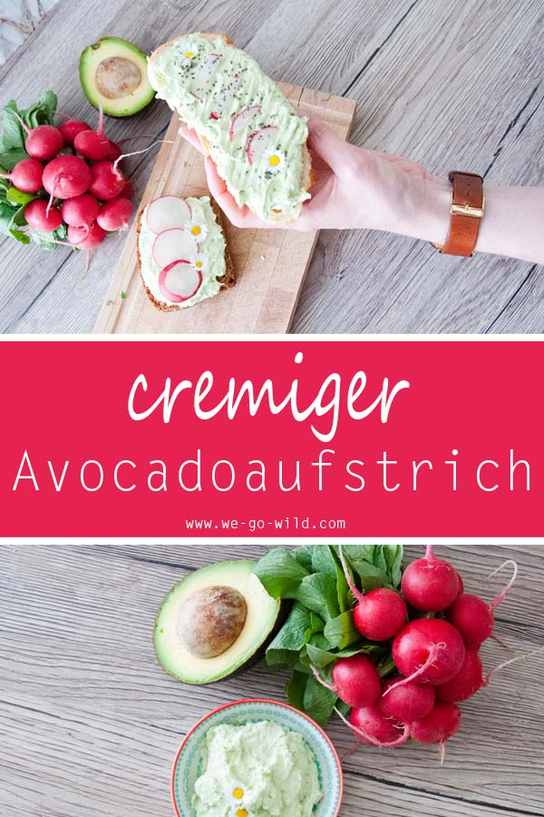 Avocado Aufstrich Mit Frischkäse Für Ein Gesundes Frühstück We Go Wild