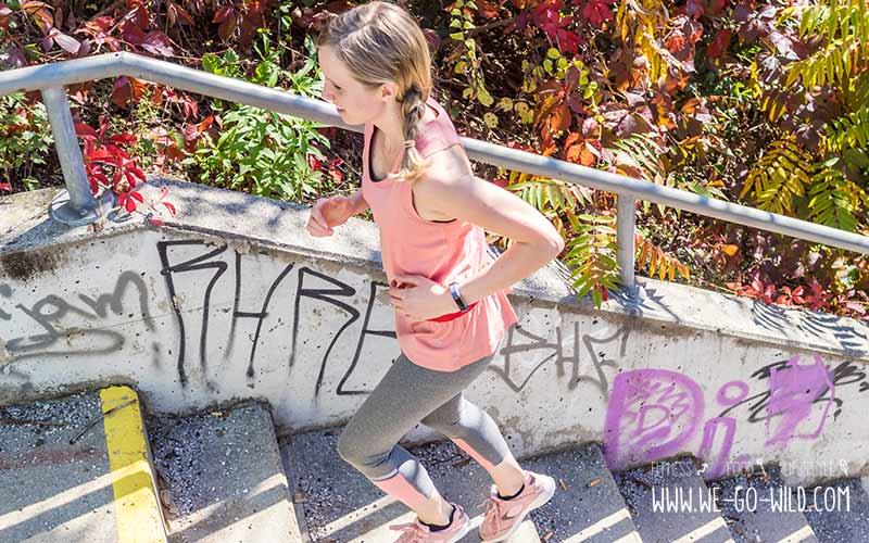 Calisthenics Übungen für Anfänger: Treppenlaufen