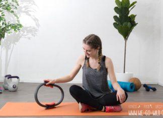 Pilates Ring Übungen für zuhause