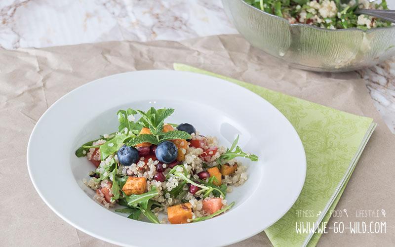 Bauch straffen mit Quinoa Salat