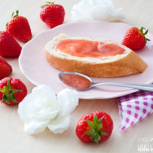 Rhabarber Marmelade mit Vanille