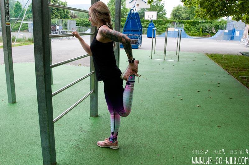 Calisthenics Training Aufwärm Übungen