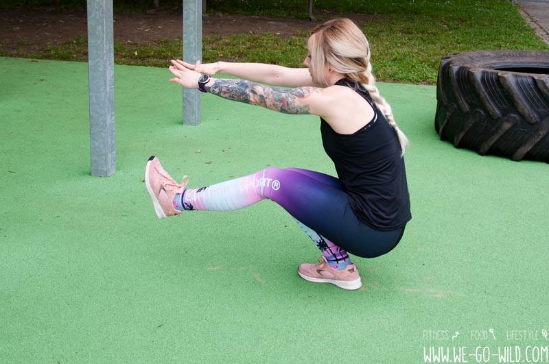 Calisthenics Übungen: Einbeinige Kniebeuge Pistol Squats