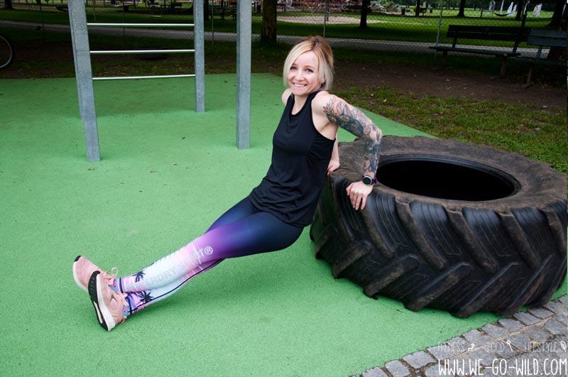 Calisthenics Übungen Street Workout für Frauen