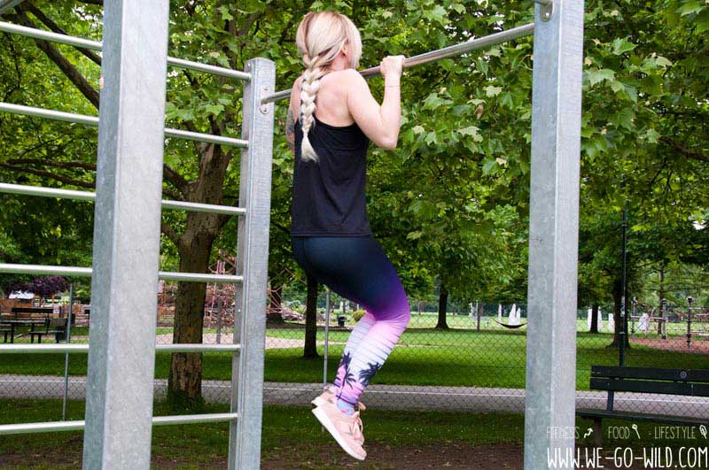 Calisthenics Übungen Frauen