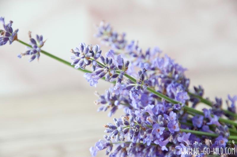 Lavendel zum Haarseife selber machen