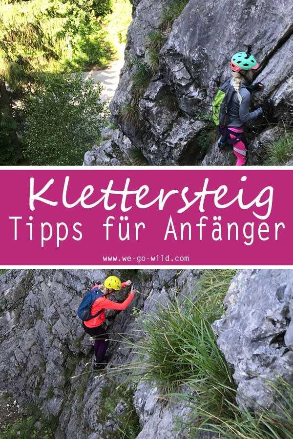 Tipps für Klettersteig Anfänger