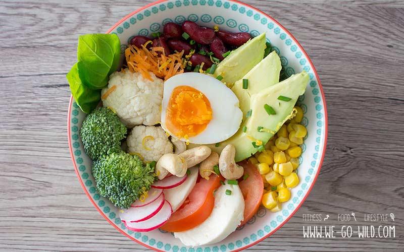 Bauch straffen durch kalorienarme Lebensmittel