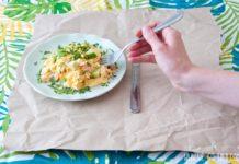Rührei Avocado Rezept mit Lachs