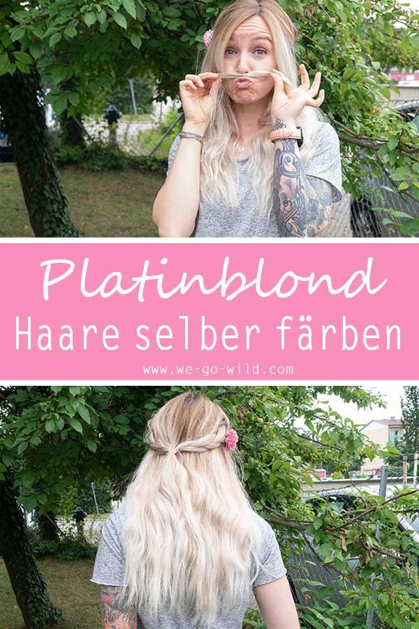 Haare Selber Blondieren So Bekommst Du Das Perfekte Platinblond
