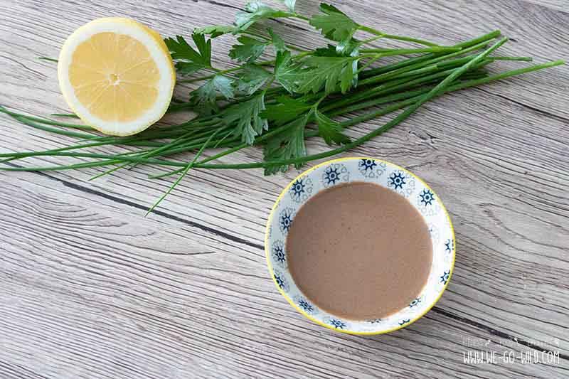 Kalorienarme Salatdressings Balsamico Dressing