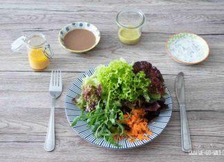 Kalorienarme Salatdressings selber machen