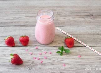 Erdbeer Lassi Rezept mit Vanille
