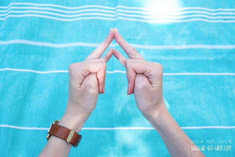 Linke hand ringfinger und kleiner finger taub