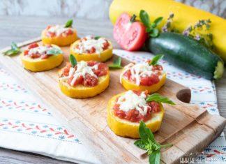 Zucchini Pizza Häppchen Rezept