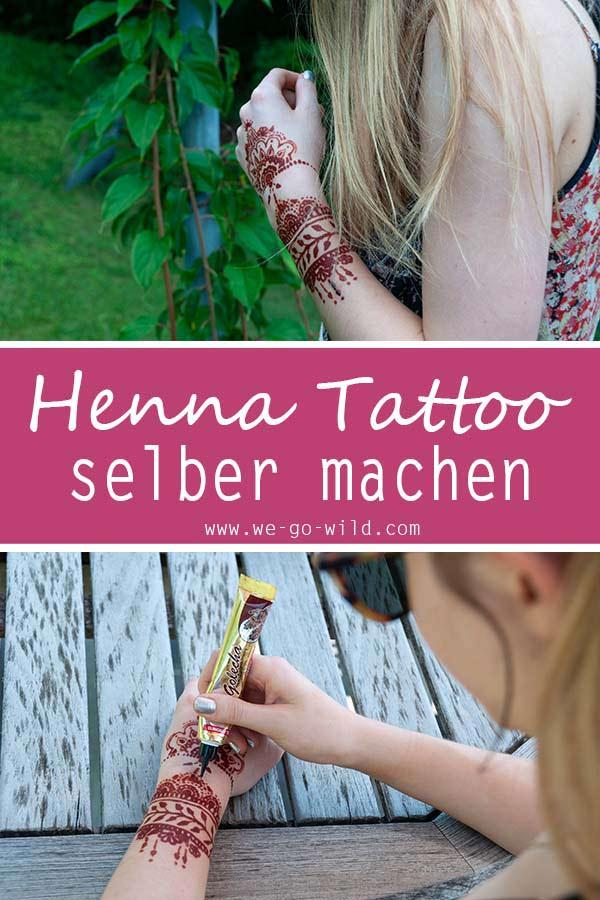 Henna Tattoo Selber Machen Kunstvolle Diy Mehndis Vorlagen