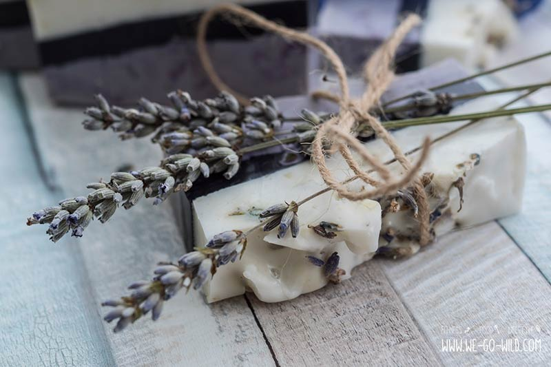 Lavendelseife selber machen