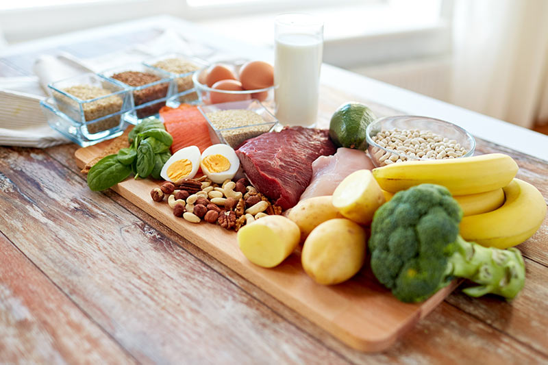Ausgewogene Ernährung oft