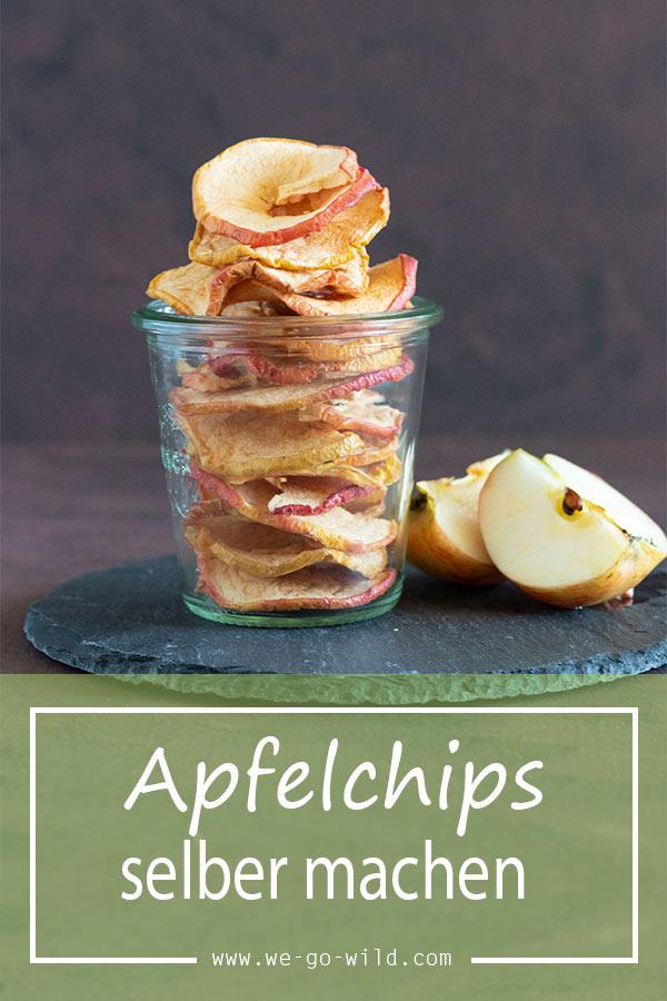 Apfelchips selber machen schnell