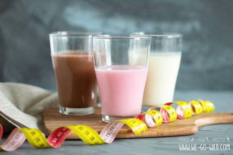 Trinken Sie Protein-Shakes, um Gewicht zu verlieren