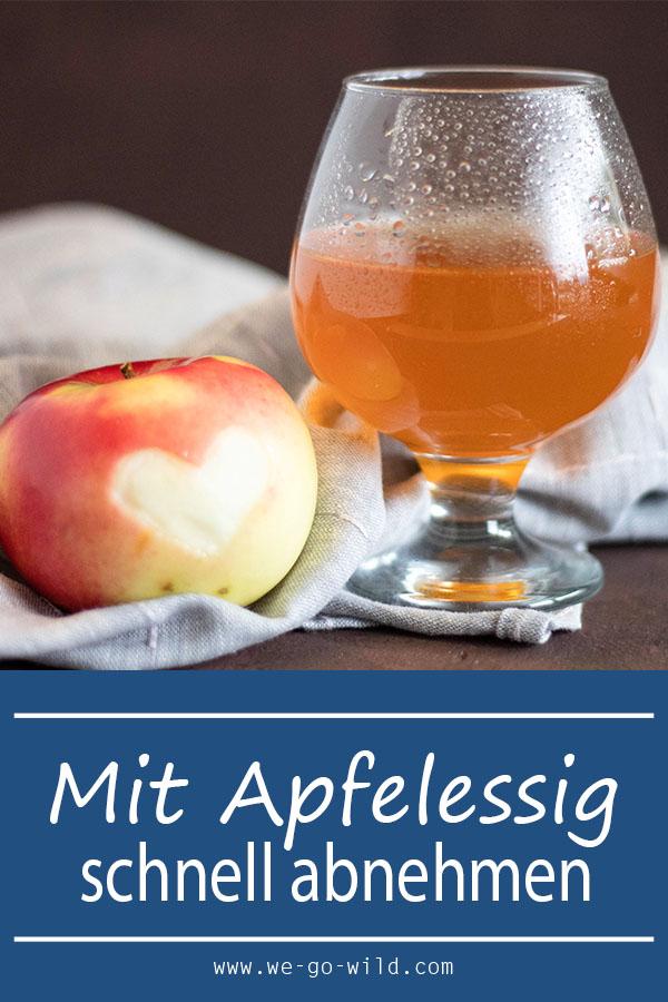 Wie man mit Apfelessig Diät macht