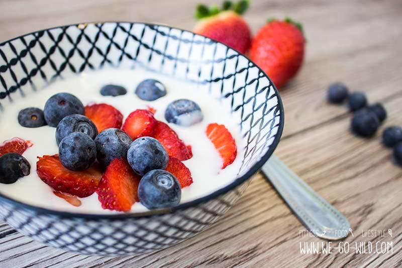 Diät gesunde Snacks