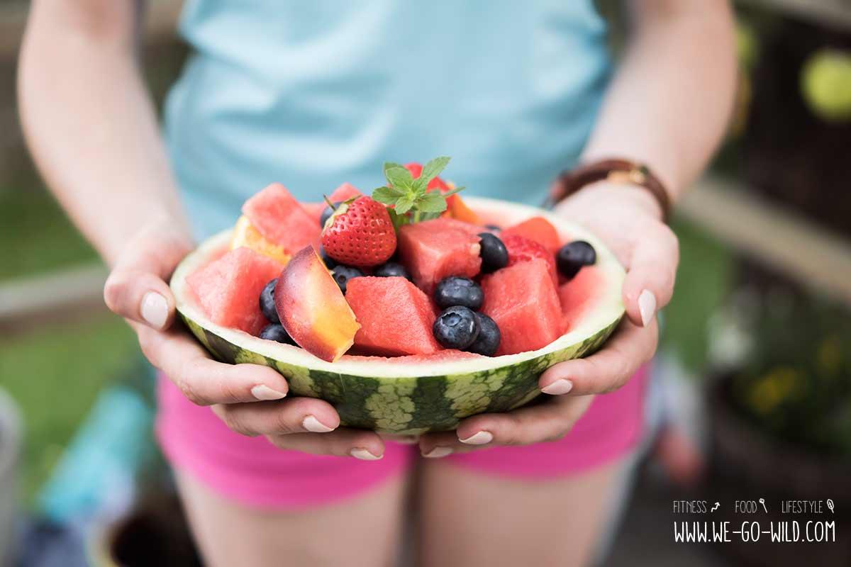 Ketogene Ernährung kann Früchte essen