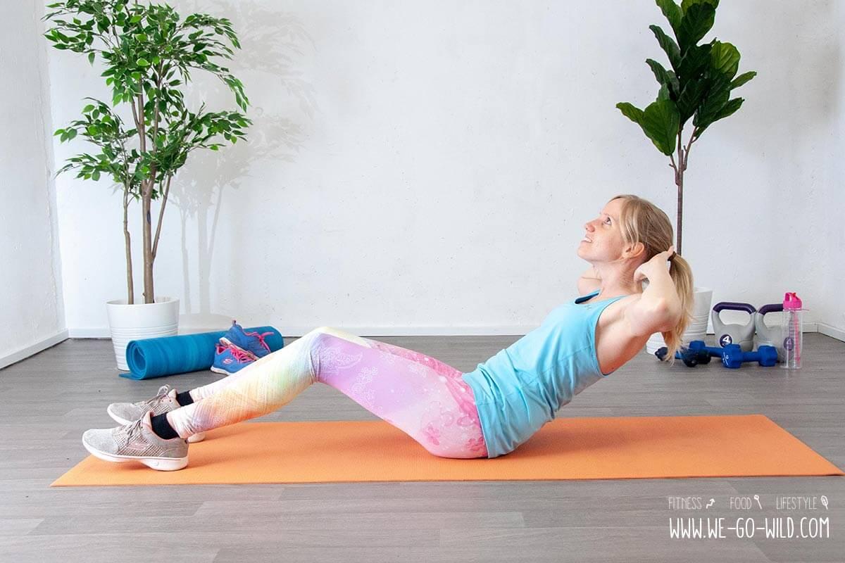 Abnehmen in einem Monat Übungen