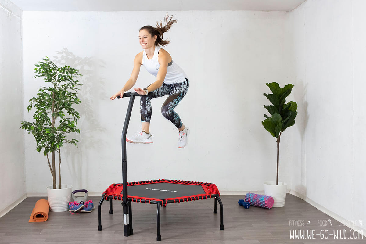 abnehmen mit trampolin: so purzeln 2021 die kilos! - we go wild  we go wild