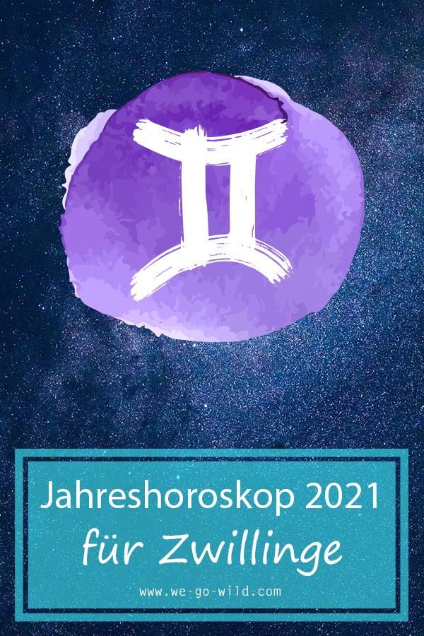 Zwilling Jahreshoroskop 2021