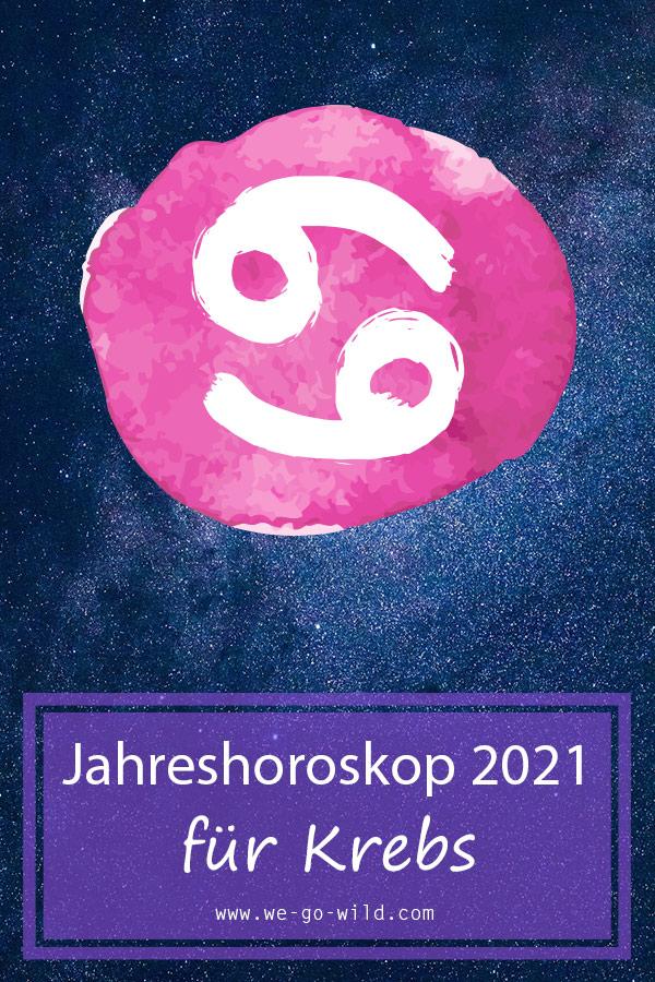 Jahreshoroskop Krebs 2021